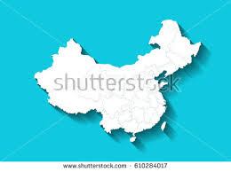 china map stock vector 276598610 shutterstock