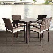 amazon com atlantic liberty 5 piece dining set garden outdoor