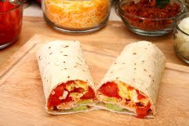 plats rapides à cuisiner wraps tomate fromage recette rapide gourmand