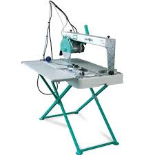 bench tile cutter tile saw bench plunge cut 110v hss hire
