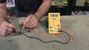 how to check a faulty thermostat using a multimeter youtube