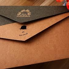 wedding gift envelope aliexpress buy 220 110mm new vintage kraft paper