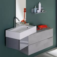 meuble de salle de bain original meuble salle de bain design gris meuble vasque original vertigo