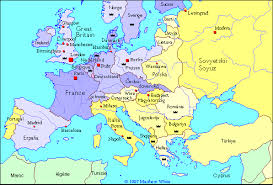 map of germany with states and capitals the german states alternate history discussion