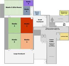 lecture hall floor plan museum studio map the arkansas arts center