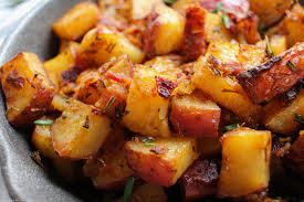 oven roasted breakfast potatoes the chunky chef