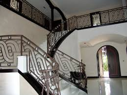 Wrought Iron Banister Wrought Iron Stair Railings For Stunning Interior Staircases