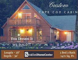 portfolio pick custom cape cod cabin stratford home center