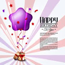 happy birthday greeting cards free vector download 15 119 free