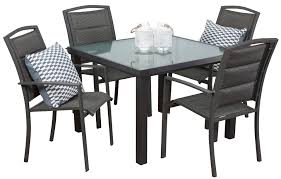 4 Seat Dining Table And Chairs Aluminium Outdoor Dining Sets Kingston 4 Seater Segals Outdoor