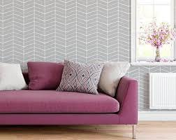 chevron wallpaper etsy
