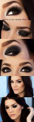 black eyeshadow is hard to pull off there is a thin line between awesome color smoky black eye makeuphow to do black eyeshadowblack eye make