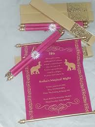 scroll invitation decorative royal scroll invitation by color print outlet catch