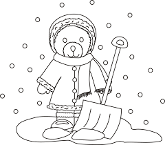shovel coloring getcoloringpages