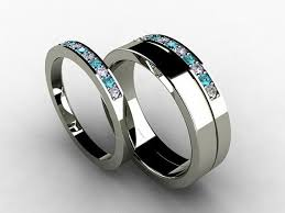 blue titanium wedding band 68 best rings images on blue diamonds diamond