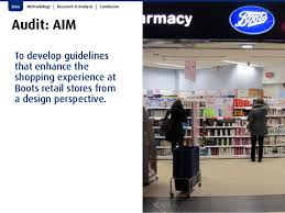 shop boots pharmacy design audit boots pharmacy