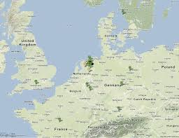 Current Map Of Europe Lofar Uk Current Map Of International Lofar Telescope