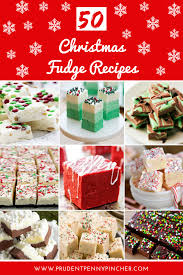 50 christmas fudge recipes prudent penny pincher