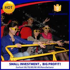 small amusement rides 6dof motion platform 4d 5d movie download
