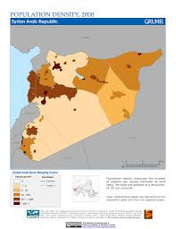 Map Of Syria And Israel by Maps Global Rural Urban Mapping Project Grump V1 Sedac