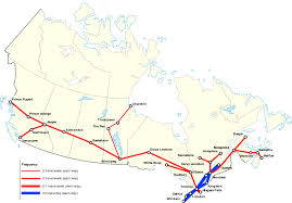 Map Of Edmonton Canada by List Of Via Rail Routes Wikipedia
