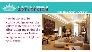Interior Design Schools In Nyc Interior Design Course New York Institute Of Art And Design