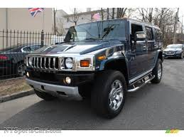 New Hummer H2 2008 Hummer H2 Suv In Limited Edition Ultra Marine 108418