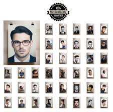 man salon a3 a4 print poster hairdresser barber men hd