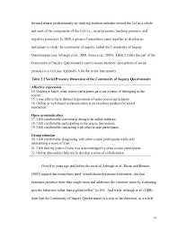 Court Reporter Resume Social Presence What Is It How Do We Measure It