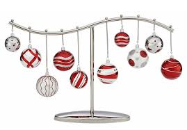 metal tree ornament display stand ornament trees spiral