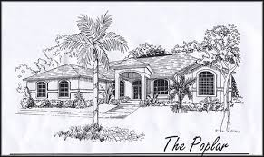 custom home plan florida home builder woodland enterprises poplar home floor plans