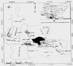 Nigeria State Map by Port Harcourt The Garden City A Garden Of Residents Nightmare