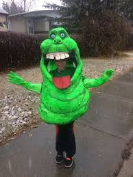Kids Ghostbusters Halloween Costume Slimer Ghostbusters Costume 11 Steps Pictures