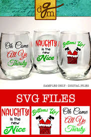 wine glass svg 25 unique christmas wine glasses ideas on pinterest diy