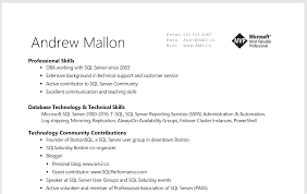 Professional And Technical Skills For Resume The Most Important Resume Tip Andy M Mallon Am