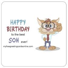 design funny e birthday cards for son free birthday cards for