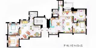 Movie Floor Plans Tv Floorplans How The Apartments In Your Favourite Shows Are