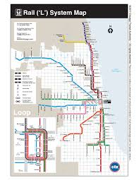 Map To Chicago by City Guide Chicago Interexchange