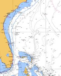 Florida Intracoastal Waterway Map by Ft Pierce Fl