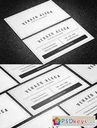 Minimal Business Card Designs Clean Minimal Business Card Template 626413 Free Download