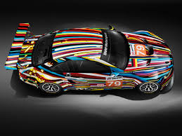 bmw u0027s art cars blend art speed cbs