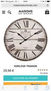 malle osier maison du monde as melhores 25 ideias de maison du monde horloge no pinterest
