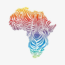 africa map color creative map of africa color africa map africa gradient color