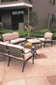 Umbrella Side Table Newport By Hanamint Luxury Cast Aluminum Patio Furniture 30