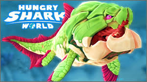 Shark Map Of The World by Big Momma Dunkleosteus Hungry Shark World New Biggest Shark In