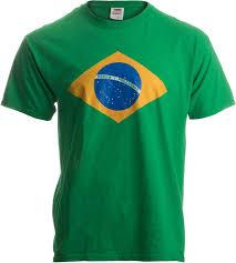 How Many Stars In Brazil Flag Amazon Com Brazil National Flag Ladies U0027 T Shirt Bandeira Do