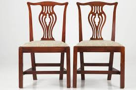 Antique Mahogany Dining Room Set Set Of Ten English Chippendale Antique Mahogany Dining Chairs