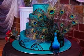 Peacock Themed Wedding Tbdress Blog Unique And Amazing Peacock Themed Wedding