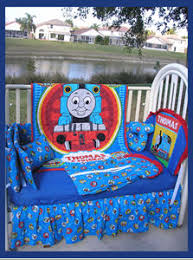Thomas The Tank Duvet Cover Thomas The Train Themed Nursery Baby Boy Train Theme Baby Crib