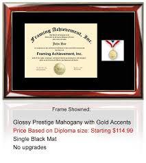 diploma frame size college graduation medallion diploma frame certificate plaque
